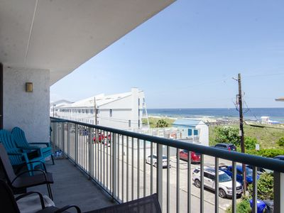 Photo for Oceanview condo with an elevator, pool, and is Pet friendly