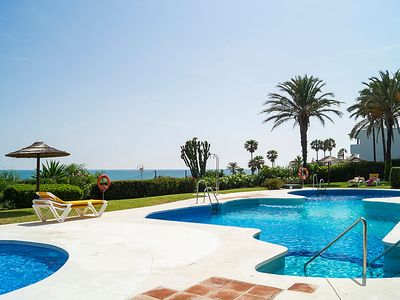Photo for Vacation home Urb Mijas Beach  in Mijas Costa, Costa del Sol - 8 persons, 3 bedrooms