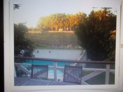 Photo for Holiday apartment with garden, swimming pool, parking in Pézenas