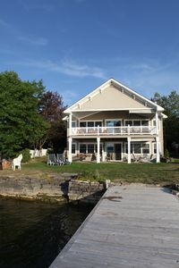 Photo for Luxury home on St. Lawrence river.