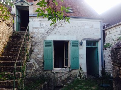 Photo for Charming 2- Story Furnished 18th Cent Townhouse For Rent In Historic French Town