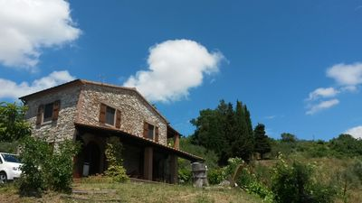 Photo for Detached quiet country house with large terrace and great views