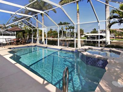 Photo for SWFL Rentals - Villa Palm View - Peaceful Canal Home Sleeps 6+2