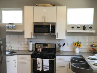 Full kitchen with brand new appliances