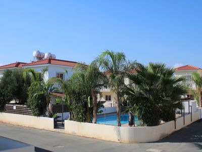 Photo for Villa with Jacuzzi and Sea Views, adjacent Large Pool and nearby Beach Resort.
