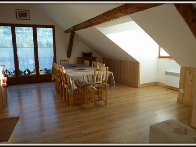 Photo for Grand charming apartment for 8-10 people. in authentic Savoyard farm