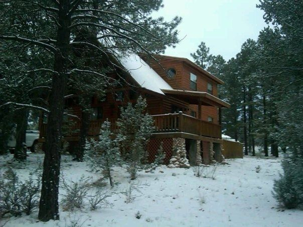 Cozy Cabin In The White Mountains Of Arizon Homeaway