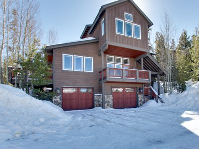 Photo for Modern luxury, with a private hot tub and gourmet kitchen!