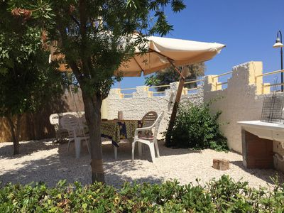 Photo for four-person villa with two in a studio apartment lampedusa