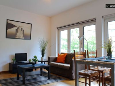 Photo for 2 BR - Fully furnished, EU region, great mobility, calm, bright and cozy