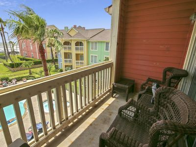 Photo for Dawn 833 - Just for Fun: Poolside Condo with Gulf View