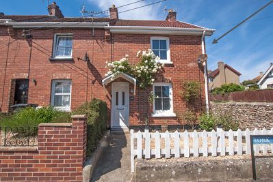 Rose Cottage in the seaside town of Seaton, Devon on the Jurassic Coast
