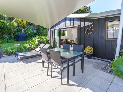 Photo for Stunning beach house within stone's throw of the beach