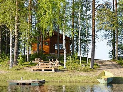 Photo for Vacation home Rinnepelto lomamökit 1 in Nilsiä - 6 persons, 2 bedrooms