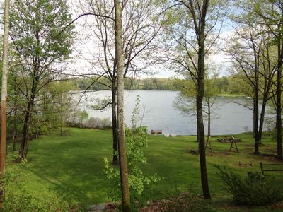 Photo for Lago House | Lakefront Home w/ WFH High-Speed WiFi, Hot Tub & Boats
