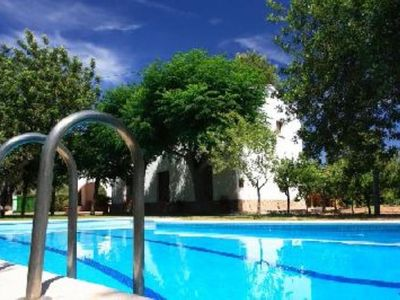 Photo for Chalet con Piscina y privado garden, Wi-Fi, among mar y montaña