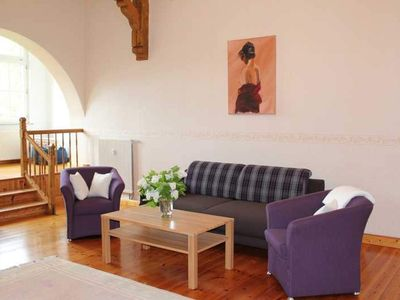 """Photo for Apartment """"Lilac"""" - * 4 very comfortable apartments in the castle Peckatel *"""