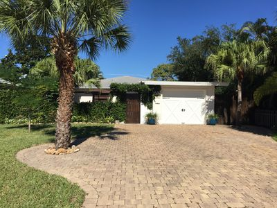 Photo for WALK TO THE BEACH 🏝 Unique Cottage Home with Heated Pool!! *PET FRIENDLY