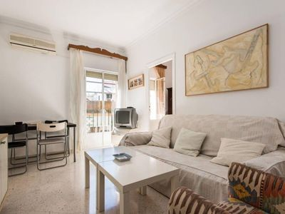 Photo for Beautiful Cathedral apartment in Santa Cruz – Catedral with WiFi, air conditioning, private roof te…