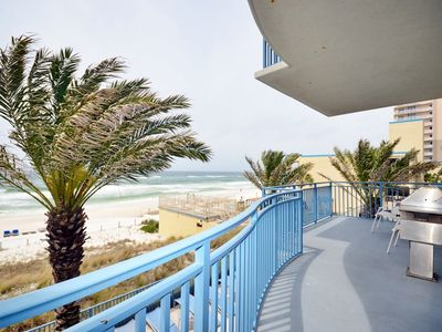 Photo for 205 Sterling Breeze Beautiful Lower Floor Condo 2019 Beach Svc Included!