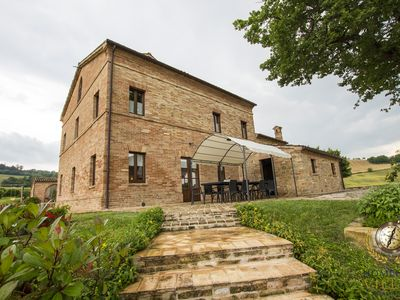 Photo for Villa Serena - Gorgeouse villa with magnificent view and private pool