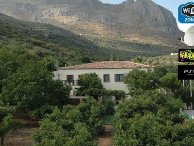 """Photo for Cottage """"La Casita del Campo"""", private pool, 5000m2 Mediterranean garden with lots of fruit trees, cer"""