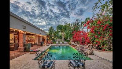 Photo for One of a kind timeless Santa Barbara home in the Estates at Scottsdale Ranch.