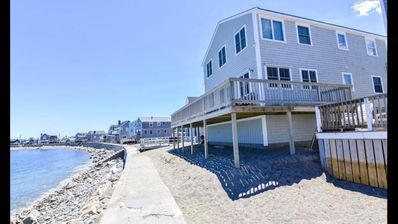 Photo for Ocean/Beachfront Home - Walking Distance to town