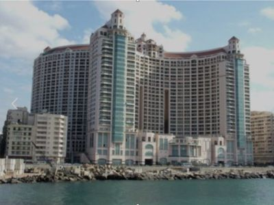 Photo for Amazing , spacious, Clean , Newly furnished, San Stefano grand plaza apartment