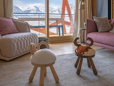 Photo for Apartment Tignes, 4 bedrooms, 9 persons