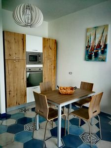 Photo for Acquamarina apartment in Serapo, beachfront with place, renovated