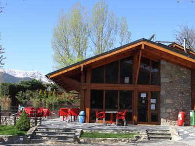 Photo for Nice apartment with microwave in the middle of the Pyrenees