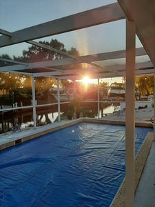 Sunset on our lania breathtaking