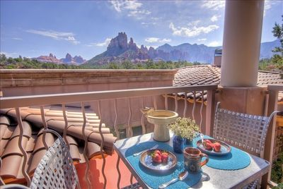 Morning Coffee On Your Private Deck Surrounded By the Red Rocks