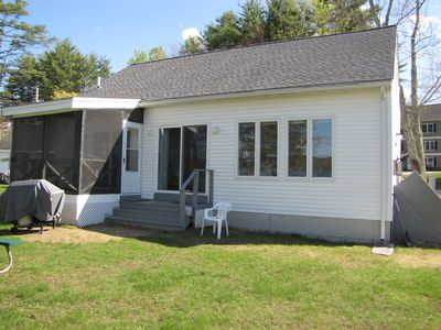 Photo for Meredith, Modern 4 bdrm, 2 bath, Lakefront home close to downtown, central air.