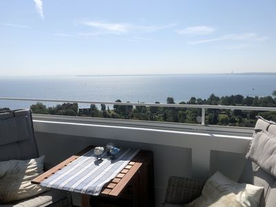Photo for Mega-view of the Baltic Sea - brand new in the rental - book now!