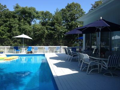 Photo for Hampton Resort  Getaway, Westhampton,Quogue Vacation Rental With Pool And Tennis