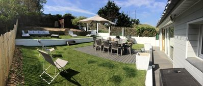 Photo for RENTAL for 8 people. Nr the golf course at HOME VARAVILLE 5 min. from Cabourg