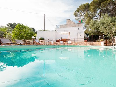 Photo for Villa Rotondo: Trulli with pool in Puglia