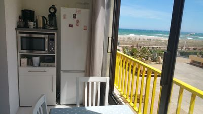 Photo for View T2 beautiful sea beach direct access