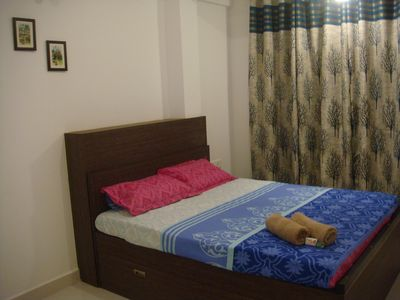 Photo for 1BR Apartment Vacation Rental in vagator, Goa