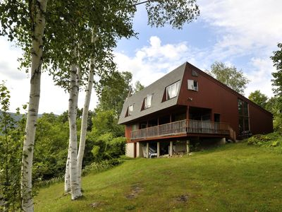 Photo for Great home! Sleeps 11, pool, tennis, privacy, views, dog friendly, Manchester VT