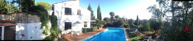 Photo for Tranquil villa with large pool - Pyrenees Orientale: 30 min Med/Spain