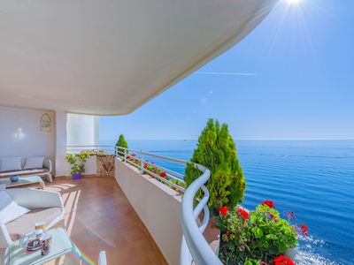 Photo for Beachfront Penthouse Marbella Center / Frontline Penthouse in Playa Marbella