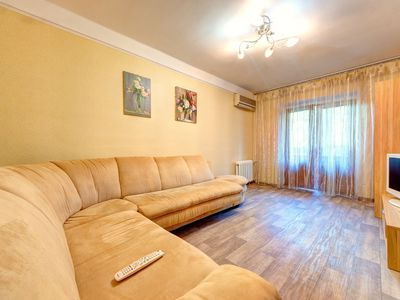 Photo for Original one bedroom apartment on the Boulevard of Friendship of Peoples