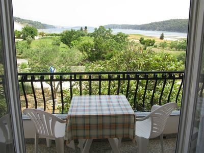 Photo for Holiday apartment with balcony and sea view near the Adriatic Sea