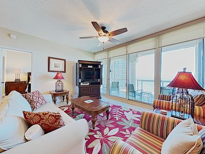 Photo for Portofino Beach Resort Condo. Bay Views. Large Private Balcony