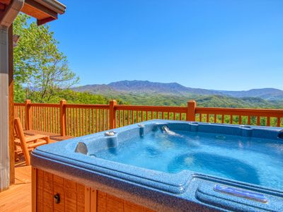Photo for BEST VIEW IN GATLINBURG! This luxury cabin has it all! NEW ARCADE GAME 2019