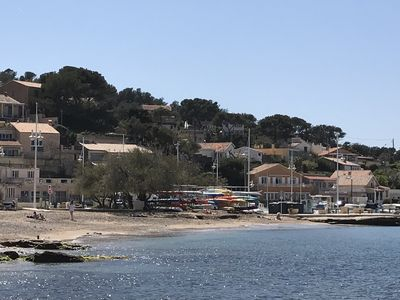 Photo for House facing the sea in the Var, beach and port 2 min walk