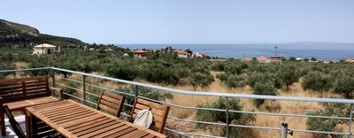 Photo for THE MAGNE - PELOPONNESE - IMPREGNABLE VIEW ON THE GULF OF MESSENIA AND THE TAIEGETE
